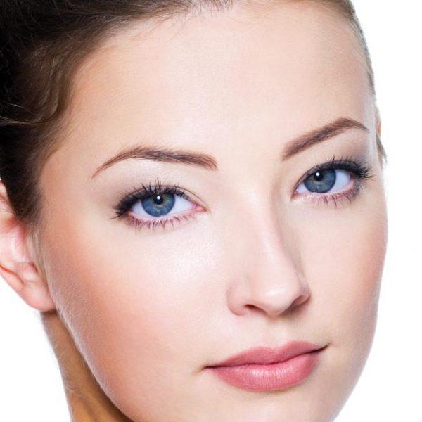 white effect facial