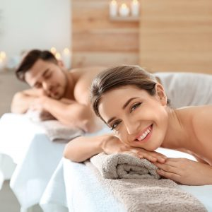 ear candling and massage couple treatment